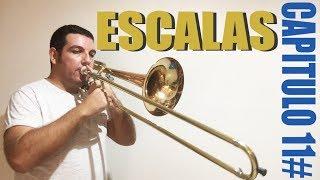 Aula de trombon-vlog. CAPITULO 11#/ESCALAS