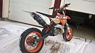 KTM EXC 125 Winter Tuning