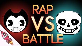 Bendy and the Ink Machine VS Undertale Rap Battle   Bendy vs Sans   Rockit Gaming