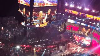 summerslam 2016 miz and apollo crews entrance live