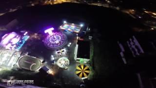PALAGONIA LUNA PARK BY NIGHT CON DRONE (Dj Matrix & Matt Joe - CERVELLO IN GIOSTRA  ) VIDEO SYSTEM