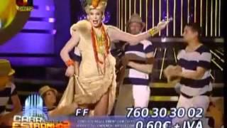 FF interpreta Carmen Miranda - A Tua Cara Nao Me e Estranha 2