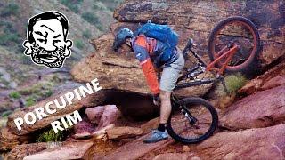 Porcupine Rim MTB trail in Moab
