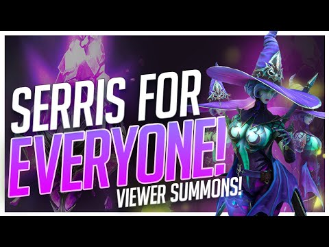 RAID | SERRIS FOR EVERYONE!! | VIEWER PULLS HIGHLIGHT!!