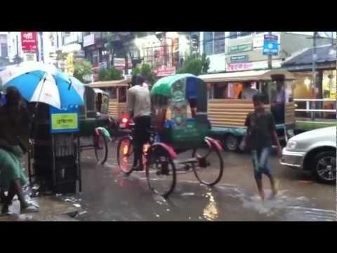 Rainy season Bangladesh monsoon.