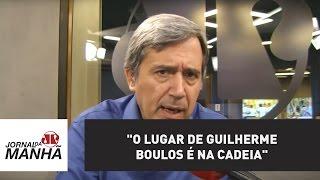 """O lugar de Guilherme Boulos é na cadeia"" | Marco Antonio Villa"