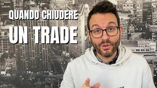 Quando chiudere un trade: esempio sul DAX