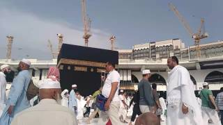 Amazing Scene of a Time at Khana kabah Live Tawaf 2017 ............