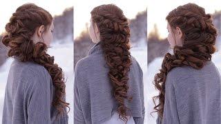 Messy Romantic Braid
