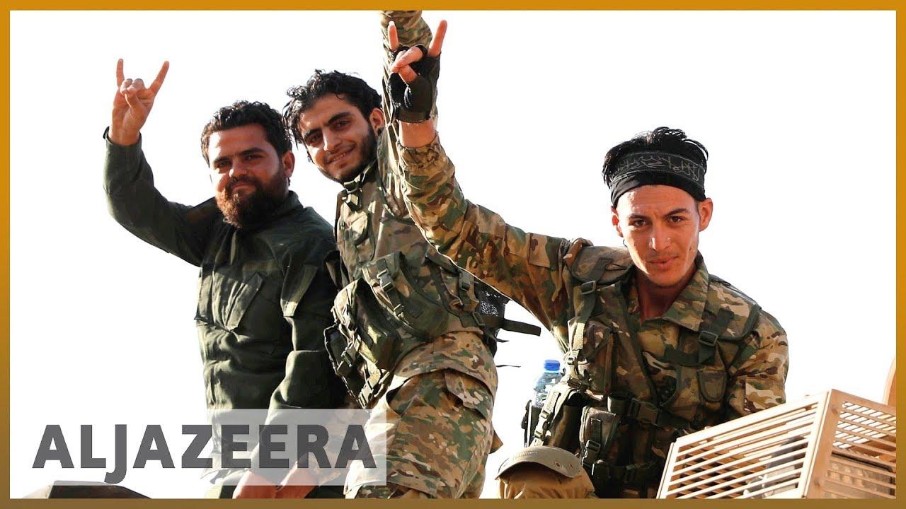 SDF Battles to Defend Ras Al-Ain