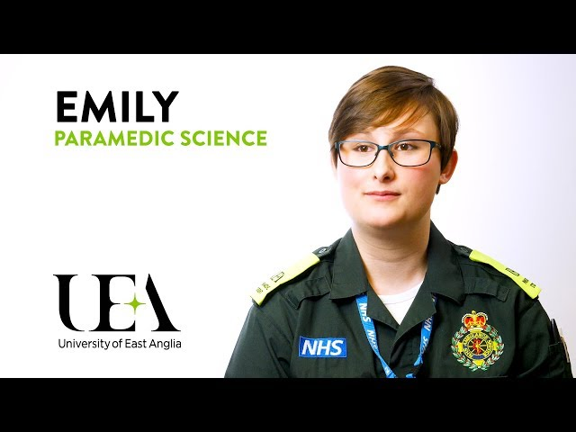 Paramedic Science: Emily's story - video