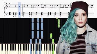 Halsey - Bad At Love - Piano Tutorial + SHEETS