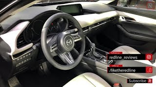 2019 Mazda3 Interior & Infotainment – Redline: First Look – 2018 LA Auto Show width=