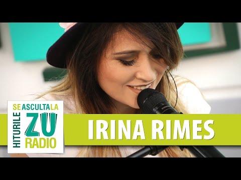 Irina Rimes - Iubirea noastra muta (Live la Radio ZU)