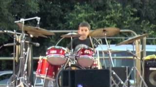 Drum solo Andrea 4 anni live @ S.Eligio bambino prodigio!!
