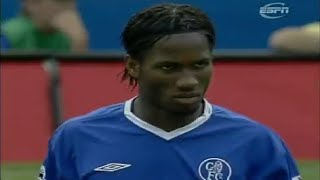 Didier Drogba vs Manchester United ► Chelsea Debut ► 15/08/2004 (Highlights)