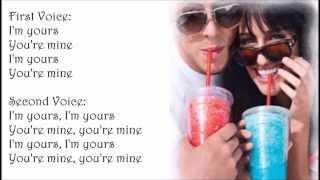 Lea Michele -- You're Mine (LYRICS)