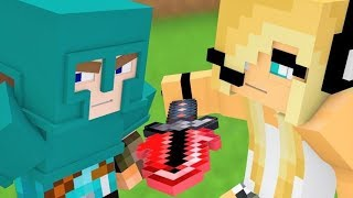 Little Square Face 5! Minecraft Song & Minecraft Animation with LSF & Psycho Girl - Minecraft songs