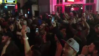 WRESTLEMANIA 34: Crowd sings Shinsuke Nakamura's theme song on Bourbon St.