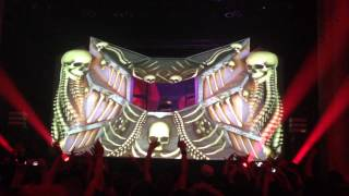 "EXCISION ""X up"" Live February 2nd 2015, Eugene Oregon"