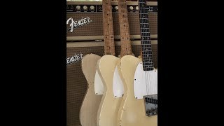 1957 56 62 Olympic White / Blond  Fender Esquire Telecaster Compare Eddie Vegas