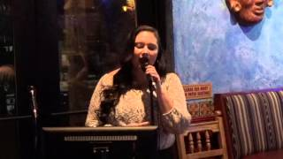 "Francesca V Sings Adele's ""Someone Like You"" at Karaoke 1/20/16"