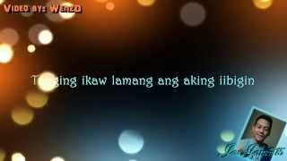 Hiling - Jay R Siaboc (Requested by Jam) [Lyrics on Video by WenzD] [HD]