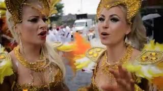 Samba Dancer Notting Hill Carnival