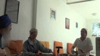 Snatam Kaur and GuruGanesha Singh Rehearsal in Mexico City