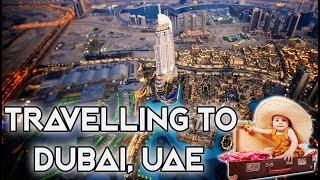 TRAVELLING TO DUBAI, UNITED ARAB EMIRATES VLOG #1 BUCKET LIST