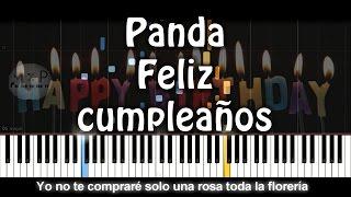 Panda - Feliz cumpleaños Piano Cover