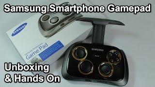 فتح صندوق ومراجعه جويستك سامسونج   Samsung Smartphone GamePad - Unboxing & Hands