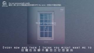 【BTSNOJAMS中字】 We don't talk anymore by Jimin & JK