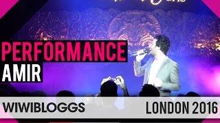 "Amir France 2016 ""J'ai cherché"" LIVE at London Eurovision Party   wiwibloggs"