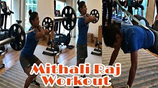 Mithali Raj live video | Workout in Gym | Latest Live