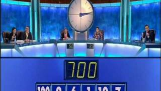Countdown Blooper - The Easiest Numbers Game Ever? (2)