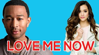 Love Me Now - Megan Nicole Lyrics (John Legend cover )
