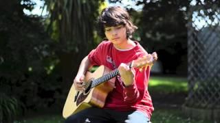 Blackbird - Fat Freddy's Drop - Acoustic solo fingerstyle guitar, arranged by Joseph Balfe