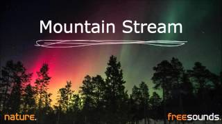 Mountain Stream | Nature Sound Effects [FREE DOWNLOAD]