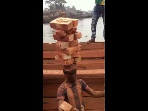 Bangladesh brick carriers