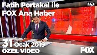 Ankara yarışında Gökçek tartışması... 31 Ocak 2019 Fatih Portakal ile FOX Ana Haber
