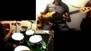 High Voltage - ACDC | Bass and Drum Cover ft. Frank L.