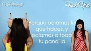 Lily Allen - Fuck You (Traducida)