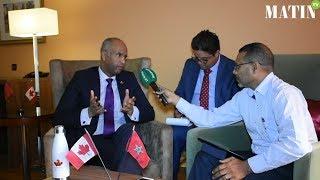 """Ahmed Hussen : """"C'est la première fois qu'autant de pays se rassemblent pour discuter de la question de la migration"""""""