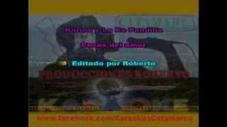 Karina y La re pandilla   Cosas del amor  ( karaoke ) (PRODUCCIONES ROBERTO)