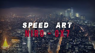 Speed art | Cover Niro - OX7 ( serie 10 )