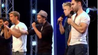 X Factor 2011-The Keys- I need a Dollar- Aloe Blacc- Full Audition-27.08.2011