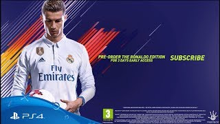 Smyths Toys - FIFA 18 Reveal Trailer | Fueled by Ronaldo