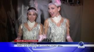 Ristorante Divieto abrió sus puertas en Estero