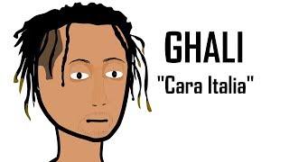 """GHALI e """" CARA ITALIA """"  in - QUANDO UNA CANZONE DIVENTA VIRALE - Parodia cartone"""